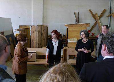 Ministerin besucht Sozialwirtschaftsbetrieb