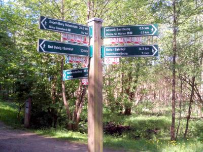 Ausgezeichnete Wanderwege dank Wanderwegeprojekt