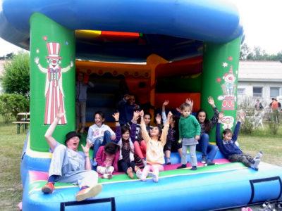 Kinder- und Sommerfest im Wohnheim Bad Belzig