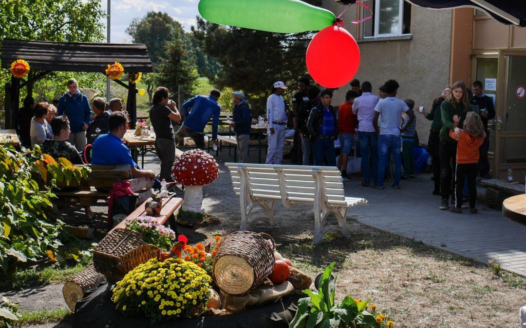 Herbstfest im Übergangswohnheim