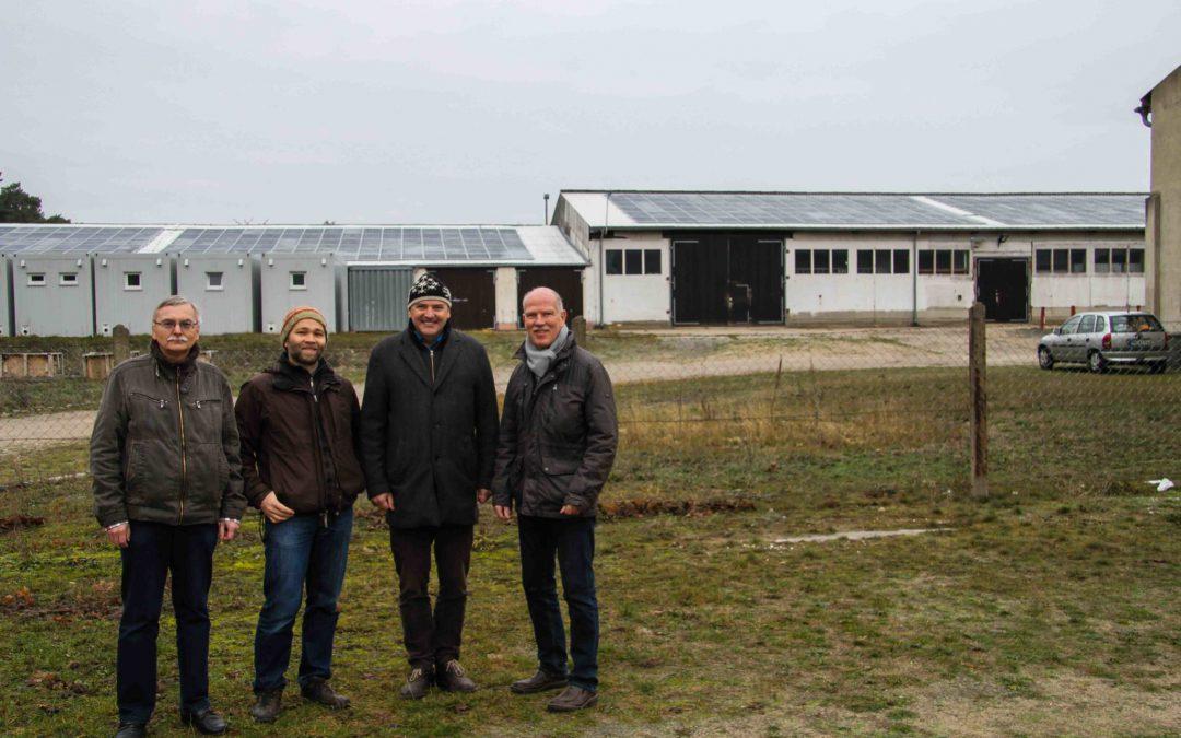 Große Photovoltaikanlage auf den Dächern des AAfV in Betrieb genommen