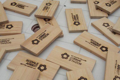 Ergebnisse der Holzwerkstatt präsentiert