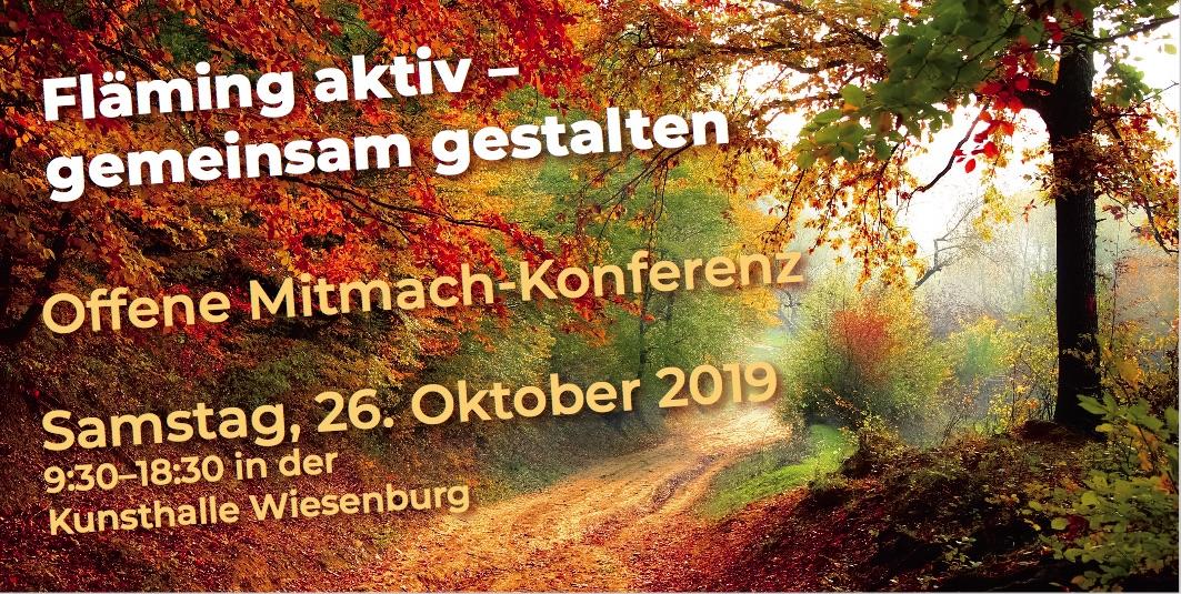 Einladung zur Mitmach-Konferenz für den Hohen Fläming