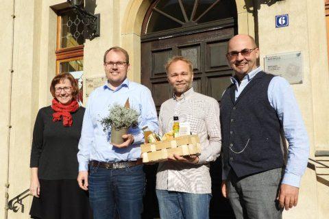 Fabian Gunkel als neuer Geschäftsführer vorgestellt