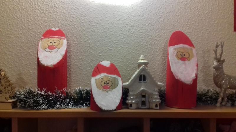 Vorweihnachtliche Holzwerkstatt