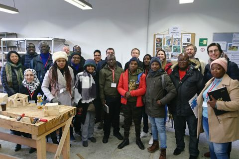 Internationaler Besuch des Sozialwirtschaftsbetriebs