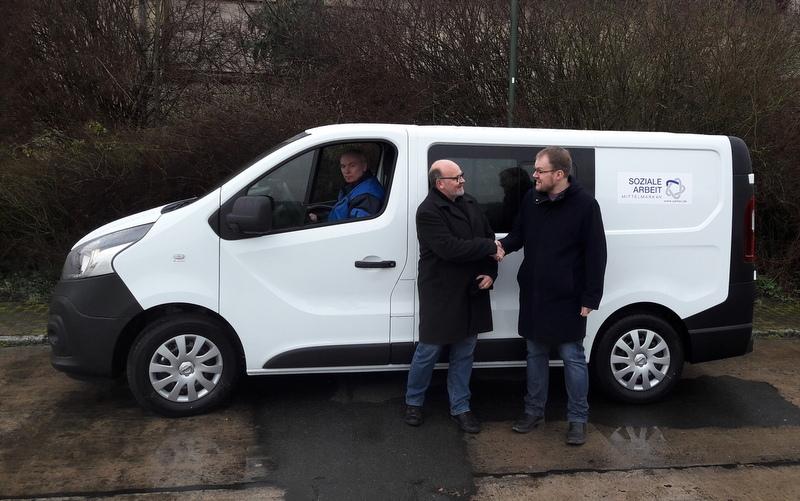 Neues Fahrzeug für den Sozialwirtschaftsbetrieb