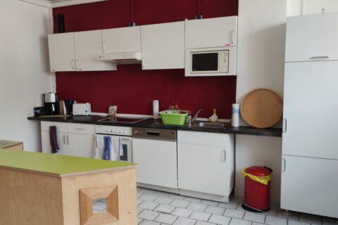 Der Stadtteiltreff Klinke1 hat jetzt eine Küche