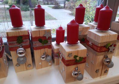Kerzenständer fertig